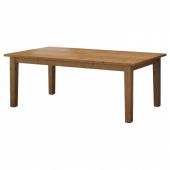 СТУРНЭС Раздвижной стол,морилка,антик