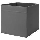 ДРЁНА Коробка,темно-серый