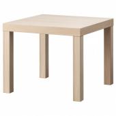ЛАКК Придиванный столик,под беленый дуб