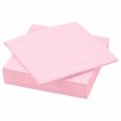 ФАНТАСТИСК Салфетка бумажная,светло-розовый