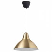 ФОТО Подвесной светильник,желтая медь