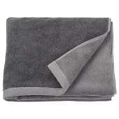 ХИМЛЕОН Банное полотенце, темно-серый, меланж, 70x140 см
