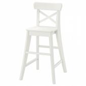 ИНГОЛЬФ Детский стул,белый