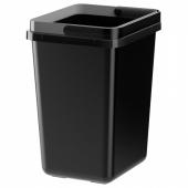 ВАРЬЕРА Контейнер д/сортировки мусора,черный