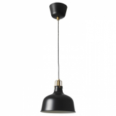РАНАРП Подвесной светильник,черный