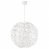 ГРИМСОС Подвесной светильник, белый, 55 см