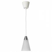 РЕСТАД Подвесной светильник,конусообразный,белый