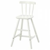АГАМ Детский стул,белый