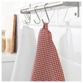 ТРОЛЛЬПИЛ Полотенце кухонное,белый,красный