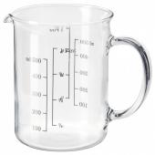 ВАРДАГЕН Мерный кувшин, стекло, 0.5 л