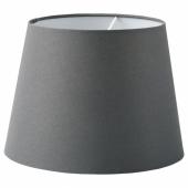 СКОТТОРП Абажур, серый, 33 см