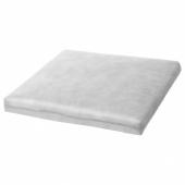 ДУВХОЛЬМЕН Внутренняя подушка д/подушки стула, для сада серый, 50x50 см