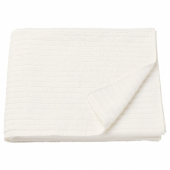 ВОГШЁН Банное полотенце, белый, 70x140 см