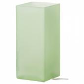 ГРЁНЕ Лампа настольная, матовое стекло зеленый