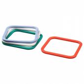 ИКЕА/365+ Уплотнительная прокладка, четырехугольной формы, разные цвета разные цвета