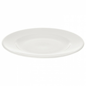 ВАРДАГЕН Тарелка десертная,белый с оттенком