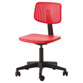 АЛЬРИК Рабочий стул,красный