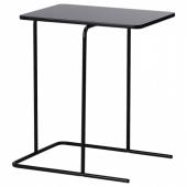 РИАН Придиванный столик,черный