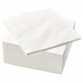 ФАНТАСТИСК Салфетка бумажная, белый, 40x40 см