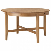 ЛЕКСВИК Раздвижной стол,морилка,антик