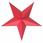 СТРОЛА Абажур, точечный красный, 70 см