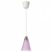 РЕСТАД Подвесной светильник,конусообразный,розовый