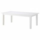 СТУРНЭС Раздвижной стол,белый