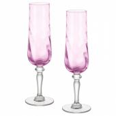 КОНУНГСЛИГ Бокал для шампанского,розовый