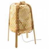 КНИКСХУЛЬТ Лампа настольная,бамбук