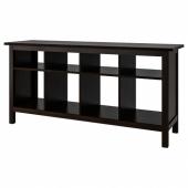 ХЕМНЭС Консольный стол,черно-коричневый