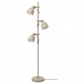 ХЕКТАР Светильник напольный с 3 лампами,бежевый