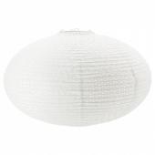 СОЛЛЕФТЕО Абажур для подвесн светильника,круглой формы белый