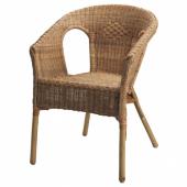 АГЕН Кресло,ротанг,бамбук