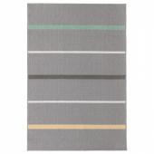 НОРУП Ковер, короткий ворс,серый,разноцветный