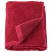 ХИМЛЕОН Простыня банная, темно-красный, меланж, 100x150 см
