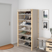 ИВАР Стеллаж с чехлом, 89x50x179 см